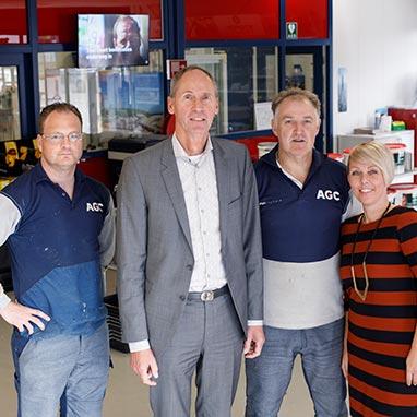 Glashandel Den Helder - AGC Glashandel