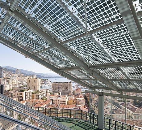 Zonnepanelen in glas - Eigenschappen
