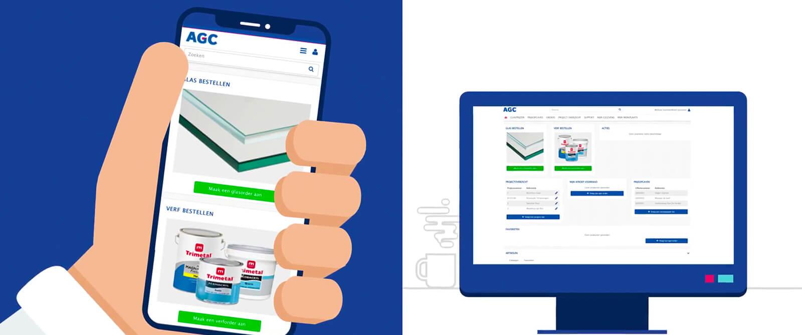 AGC Nederland - Eenvoudig en snel uw AGC glas online bestellen