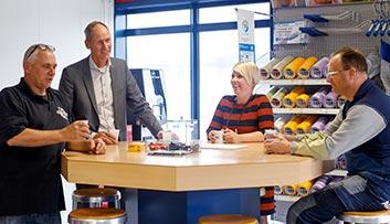 Glashandel Den Helder - De koffie staat klaar!