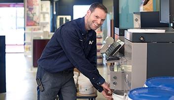Glashandel Zwolle - De koffie staat klaar!
